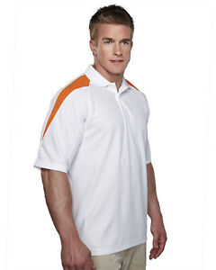 Tri-Mountain-Men-039-s-Polyester-Moisture-Wicks-Short-Sleeve-Knit-Polo-T-Shirt-207