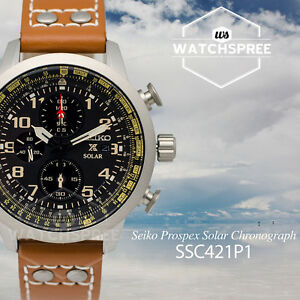 seiko prospex solar chronograph watch ssc421p1 ebay. Black Bedroom Furniture Sets. Home Design Ideas