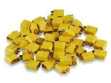 10x YUKI MODEL XT 60 Stecker Hochstrom 600048 XT60 Goldkontakt, Lipo , Nylon