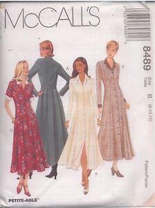 8489-UNCUT-Vintage-McCalls-Pattern-Misses-Princess-Seamed-Dress-SEWING-OOP-SEW