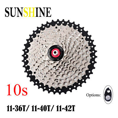 Sunshine 10 Speed 11-36t/40t/42t Cassette Flywheels Sprockets For Shimano Sram Buy Now Sporting Goods Cycling