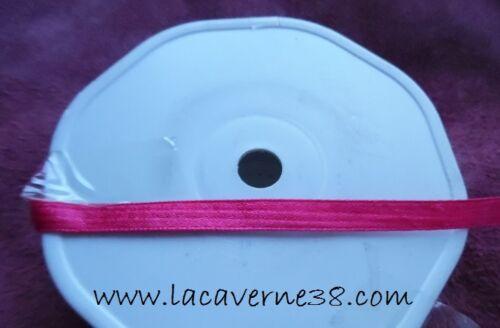 2//5//10//20 m Ruban satin 6 mm couture mercerie couleurs diverses