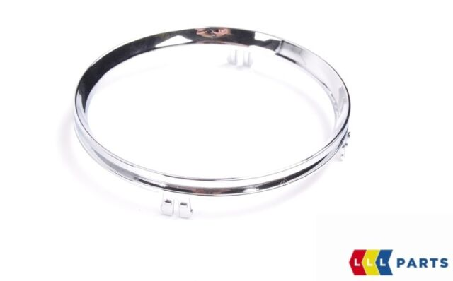 MINI NEW GENUINE R55 R56 R58 R59 TRIM RING FOR FRONT CUP HOLDER CHROME 2756166