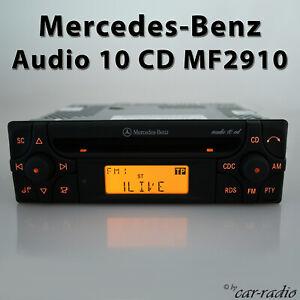 Original-Mercedes-CD-Autoradio-W210-W208-W163-W123-W116-W113-Alpine-Becker-Radio