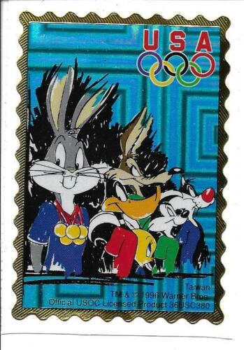 LOONEY TUNES 1996 Olympics **TEAM MEDAL CEREMONY** Team USA Sticker