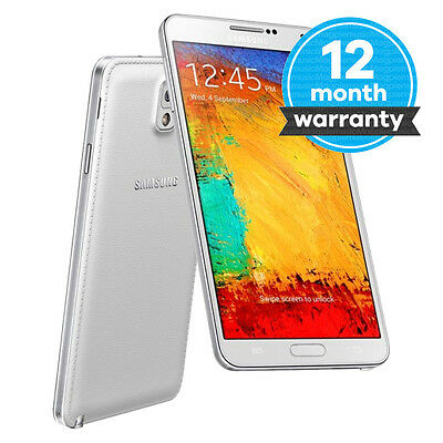 Samsung Galaxy Note III N9005 - 16GB - White (Unlocked) Smartphone Pristine (A)