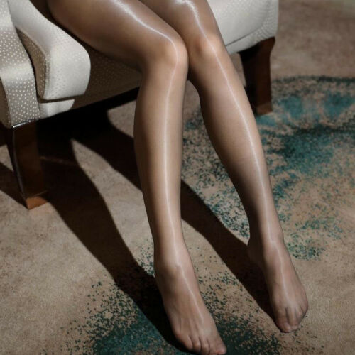 Women Ultra Sheer Tights Stockings Shiny Nylon Transparent Ultra-thin Pantyhose