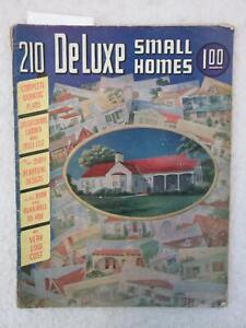 Vintage-1940s-210-DE-LUXE-SMALL-HOMES-Catalog-L-F-Garlinghouse-Company-Kansas