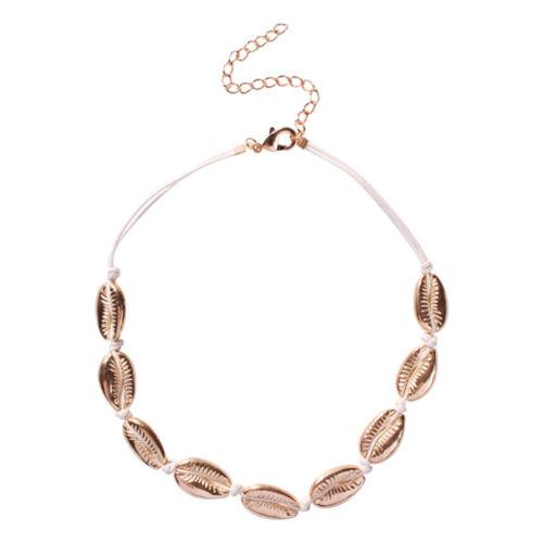 Women Girls Jewelry Summer Beach  Seashell Conch  Cowrie Choker  Shell Necklace