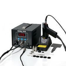 2 In 1 Soldering Iron Desoldering Station Vacuum Pump Gun Yh 948 Esd Safe 80w