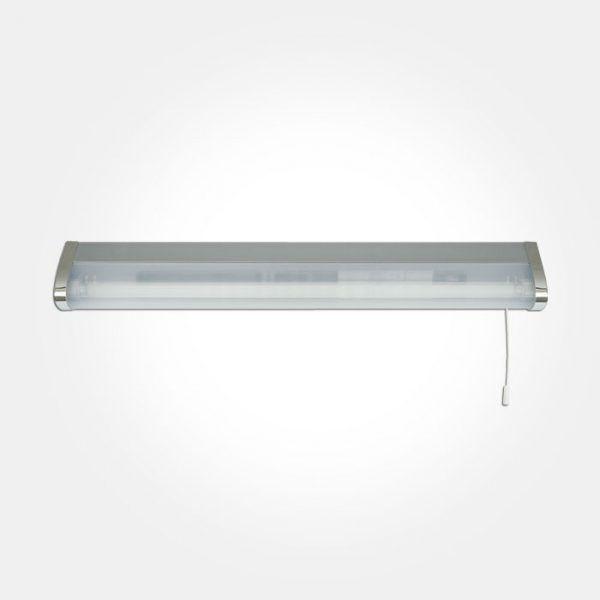 over mirror lighting. Eterna OML14PS IP44 Low Energy Bathroom Over Mirror Light Polished Chrome Lighting