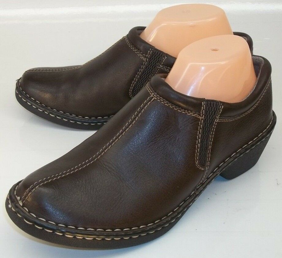 Eastland AMORE Womens US 10M Brown Leather Slip-on Casual Casual Casual Work Loafer shoes 87319a