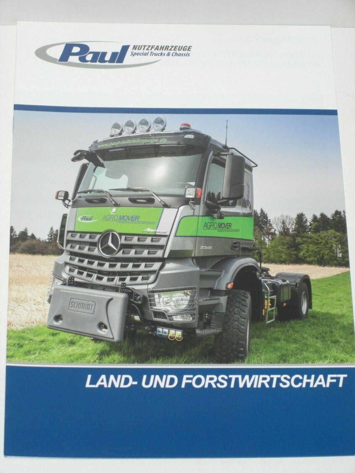 2051 AS 4x4 Agrotruck Prospekte PAUL AGROMOVER TRAKKER 4x4 381