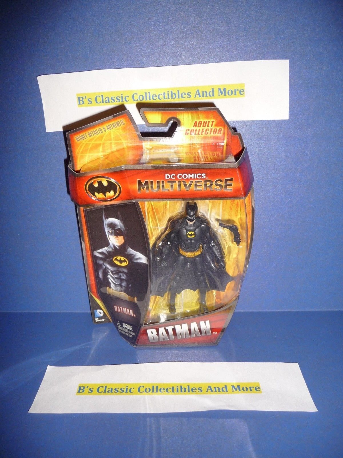 Batman Figure 3.75  DC Comics Multiverse Micheal Keaton Batman New