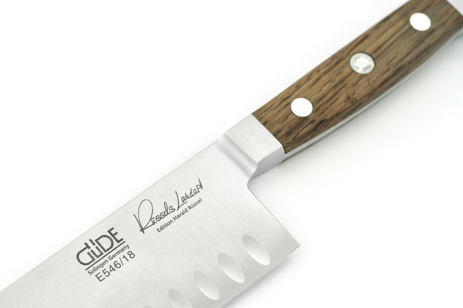 Santoku Kulle Güde Alpha fasseiche premium couteau e546 18