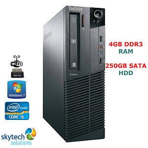 VELOCE-Lenovo-ThinkCentre-Intel-Quad-Core-i5-3-10GHZ-GHZ-Wi-Fi-ECONOMICO-WINDOWS
