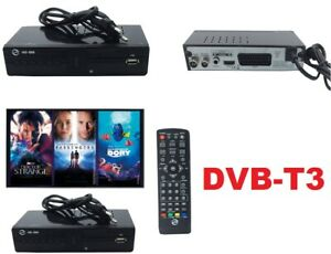 2022 Decoder Digitale Ricevitore Terrestre DVB-T3. Hdmi,usb,HD T2 dvbt3 TV h.265