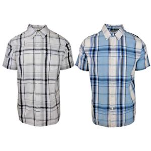 Levi-039-s-Men-039-s-Plaid-S-S-Woven-Shirt-Retail-54-50