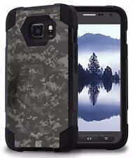 Beyond Cell Shell Case Hyber 2 For Samsung Galaxy S7 Active Digital Camouflage