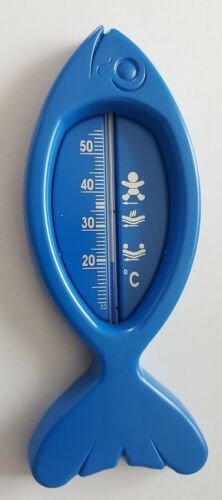 "Badethermometer /""Fisch/"" Babythermometer Thermometer Wasserthermometer NEU!"