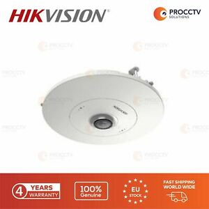 Hikvision Fish Eye Camera DS-2CD6365G0E/RC F1.27mm, 6MP, H.265 Micro SD, PoE