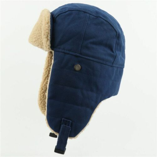 Winter Bomber Hats Earflap Russian Ushanka with Goggles Trapper Pilot Snow Caps