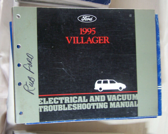 1995 Mercury Villager Electrical Wiring  U0026 Vacuum Diagram
