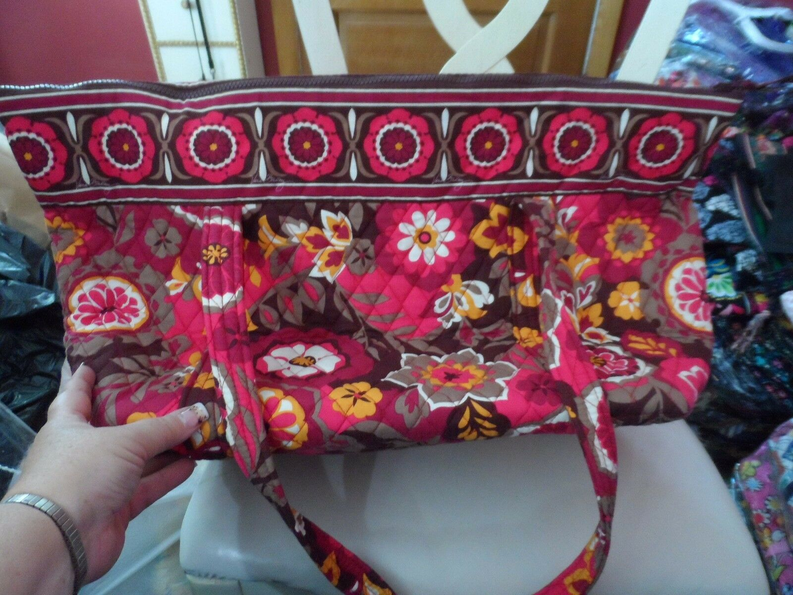 Vera Bradley Miller Bag in Carnaby pattern  - image 5