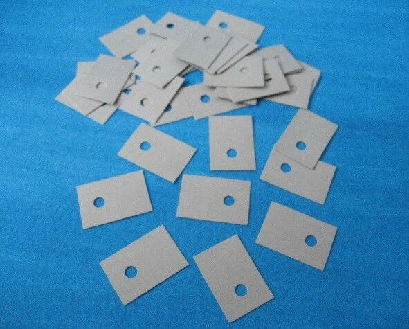 100PCS TO-220 Insulation Pads Silicone Heatsink Shim for Laptop CPU GPU NEW T9