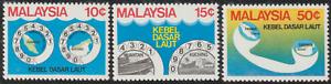 88-MALAYSIA-1980-SUBMARINE-CABLE-PROJECT-SET-3V-FRESH-MNH-CAT-RM-12