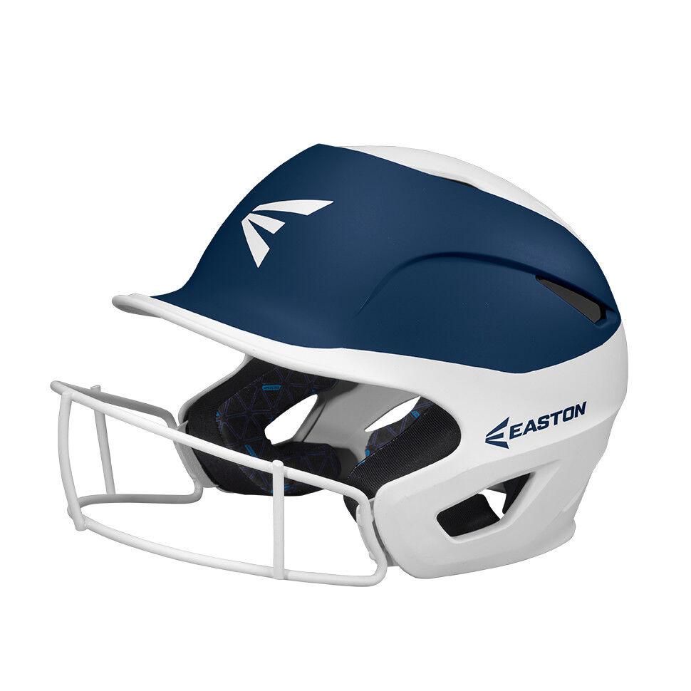 Easton Prowess Fastpitch Softball Batter's Helmet w/Mask Weiß/Navy A168502