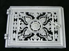 Alte Ofenklappe Ofentür, Ofen antik mit Rahmen