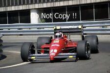 Gerhard Berger Ferrari F1/87 Detroit Grand Prix 1987 Photograph