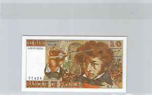 France 10 Francs Berlioz 23.11.1972 Q.7 N°0016577424 F.63 (1)