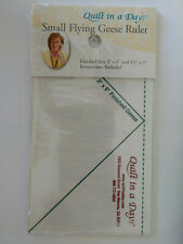 """Quilt in a Day Small Flying Geese Ruler by Eleanor Burns 3/"""" x 6/"""""""