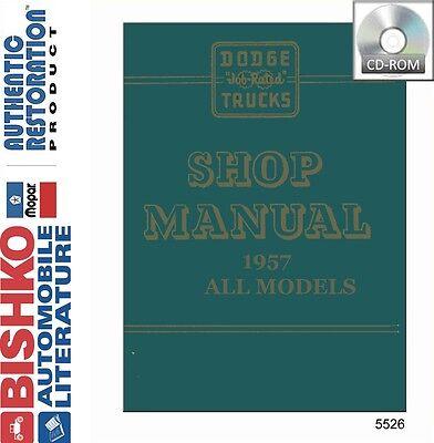 1957 dodge truck wiring diagram 1957 dodge truck pickup shop service repair manual cd engine  1957 dodge truck pickup shop service