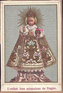 Prag-Jesus-Nino-Cuadro-Santos-Amria-Imagen-Milagrosa-Bohemia-Koloriert-B-6652