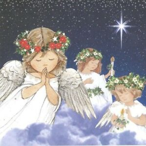 Charity-Christmas-Card-Air-Ambulance-Service-ANGELS-ON-HIGH-10-Pack