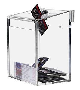 Clear Suggestion / Ballot Box Top Lock 6x8
