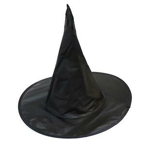 Wizard Hat Black Pop Out Durable Polyester Halloween Fancy Dress Pointed Witch