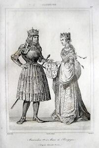 Maximilian Von österreich Und Maria Von Burgund