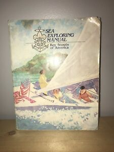 VINTAGE-BSA-BOY-SCOUTS-OF-AMERICA-BOOK-1990-SEA-SCOUTS-SEA-EXPLORING-MANUAL