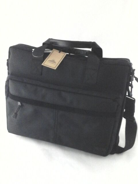 7990697bea Computer/Laptop Bag STEVE Madden Barrett Avenue Black Nylon MM-710B $100 New