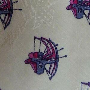 White-Pink-Archer-PAL-ZILERI-Linen-Silk-Tie