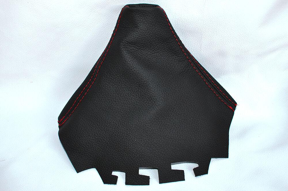 BLUE STITCHING FITS SEAT IBIZA MK3 2002-2008 SHIFT BOOT 100/% GENUINE LEATHER