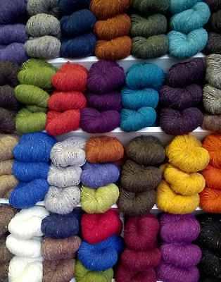 Quality Donegal Aran Tweed Knitting Yarn 100% Wool : 7oz : 350 yard from Ireland