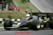 Elio De Angelis JPS Lotus 95T British Grand Prix 1984 Photograph 2