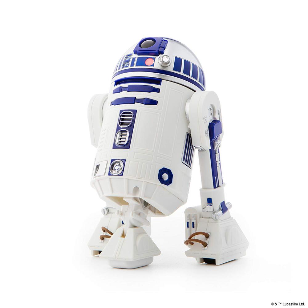 R2 - d2 - app aktiviert droide, holographische simulation, star - wars - roboter, lautsprecher, führte