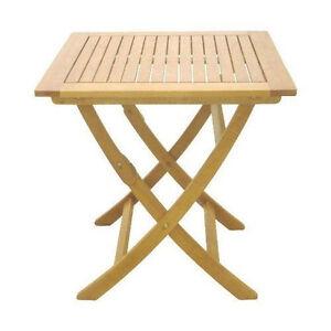Catar Gartentisch 60x60 Klapptisch Holztisch Tisch Bistrotisch