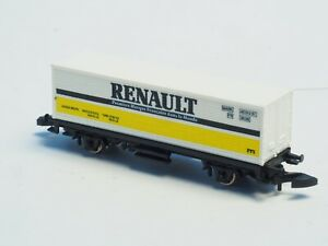 Marklin-Z-scale-RENAULT-Container-Car